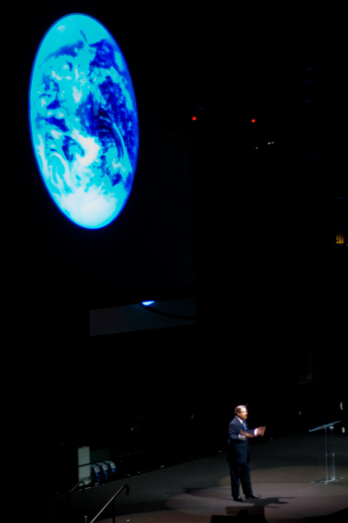 2007: Al Gore's speech on Global Warming at the University of Miami BankUnited Centre, almost a decade ago (photo: Alex de Carvalho)